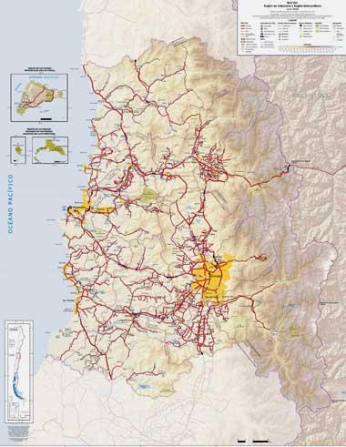 RUTERO MAPA PDF DE CHILE